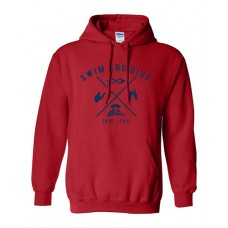 ISD Swim 2020 TRUMAN Hoodie Sweatshirt (Red)